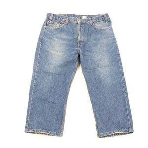 Vintage 90s Levis 505 Regular Fit Straight Jeans